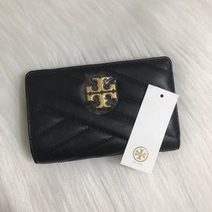 NWT! Tory Burch Medium Kira Quilted Leather Wallet